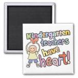 Kindergarten Teachers Have Heart Magnet