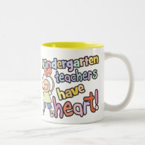 Kindergarten Teachers Have Heart Mug