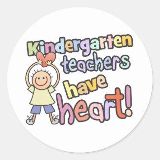 Kindergarten Teachers Have Heart Sticker