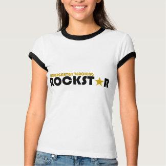 Kindergarten Teaching Rockstar Tee Shirt
