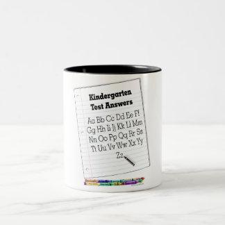 Kindergarten Test Coffee Mug