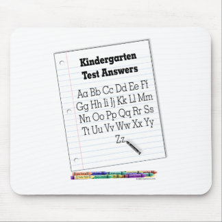 Kindergarten Test Mousepads