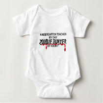 Kindergarten Zombie Hunter Baby Bodysuit