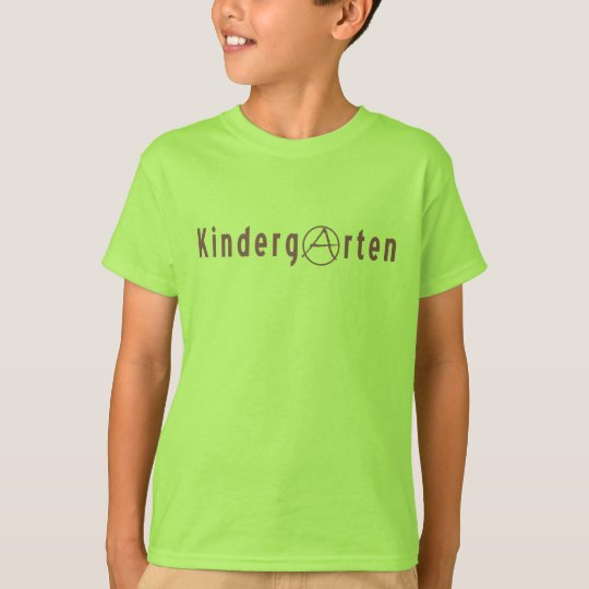 Kindergarteners for Anarchy T-Shirt