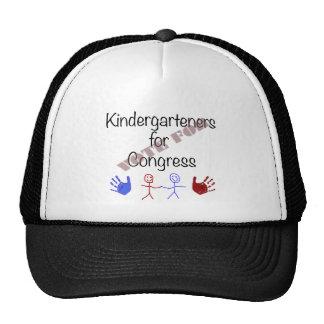 Kindergarteners para el congreso gorros bordados