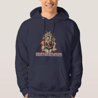 Kindertrauma-Clown Hooded Sweatshirt