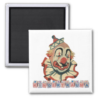 Kindertrauma-Magnets 2 Inch Square Magnet