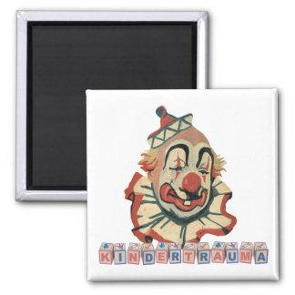 Kindertrauma-Magnets 2 Inch Square Magnet