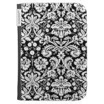 Kindle Black Damask Pattern Kindle 3 Covers