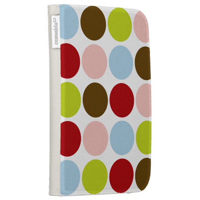 Kindle Case - Big Mod Dots