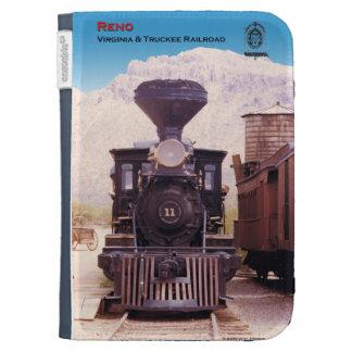 kindle case V&T railroad engine Reno