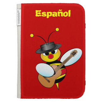 Kindle Case with spanish bee