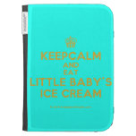 [Cupcake] keepcalm and eat little baby's ice cream  Kindle Cases