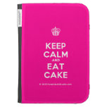 [Cupcake] keep calm and eat cake  Kindle Cases