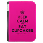 [Cupcake] keep calm and eat cupcakes  Kindle Cases