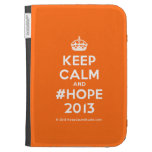 [Crown] keep calm and #hope 2013  Kindle Cases