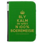 [Crown] bly kalm en wees n 100% boeremeisie  Kindle Cases