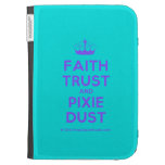 [Knitting crown] faith trust and pixie dust  Kindle Cases