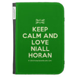 [UK Flag] keep calm and love niall horan  Kindle Cases