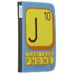 J JENNIFER'S PHONE  Kindle Cases