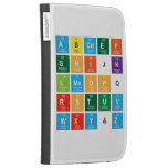 Abcdef ghijk lmnopq rstuv wxy&z  Kindle Cases