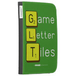 Game Letter Tiles  Kindle Cases