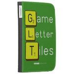 Game Letter Tiles  Kindle Cases
