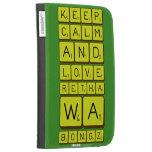 keep calm and love Retha wa Bongz  Kindle Cases