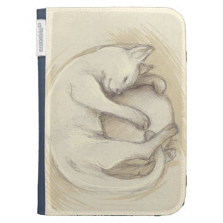 Kindle cover cat sleeping