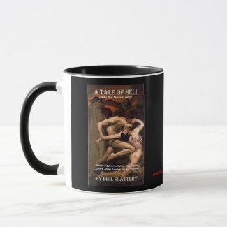 Kindle cover design for A Tale of Hell... Mug