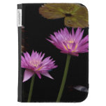 Kindle cover with Water Lilies