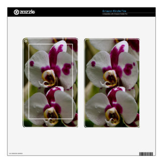 Kindle Fire Skin - Orchid