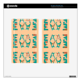 Kindle Fire Skin with Southwestern Style