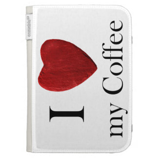 Kindle funda i Coffee love my