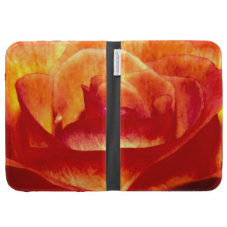 Kindle Keyboard Case with Rose
