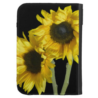 Kindle Keyboard Case with Sunflowers