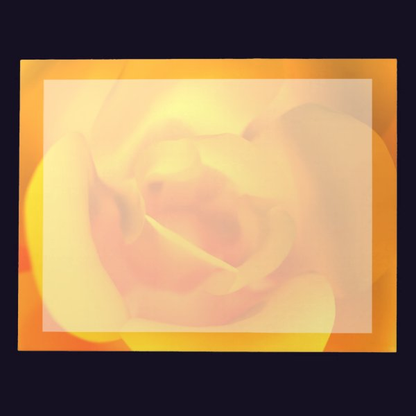 Kindled Rose Notepad