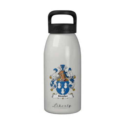 Kindler Family Crest Water Bottle