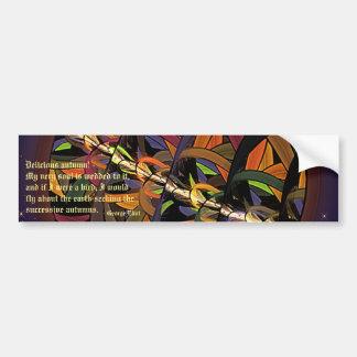 Kindly Harvest Moon Car Bumper Sticker