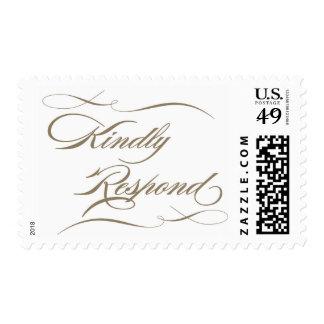 Kindly Respond-Latte Stamps