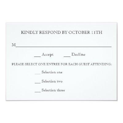 wedding reply