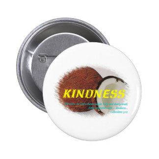 Kindness 2 Inch Round Button
