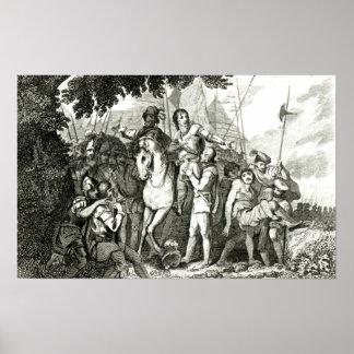 Kindness a un soldado, 1815 de sir Philip Sidney Póster