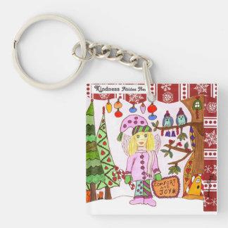 Kindness Abides Here Fairy Acrylic Keychain
