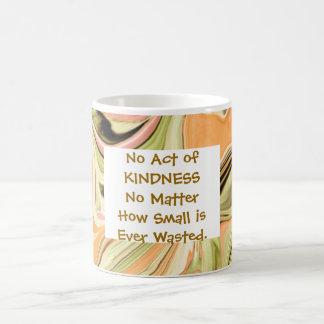 kindness acts coffee mug