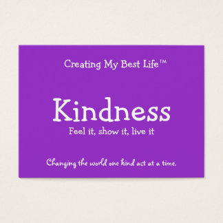 Kindness Card - Purple & Lavender