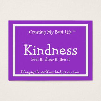 Kindness Card - Purple & Lavender - Customized v2