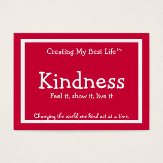 Kindness Card - Red
