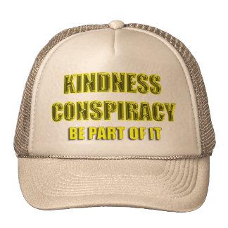 kindness conspiracy trucker hat