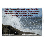 Kindness & Courage-Greeting Card